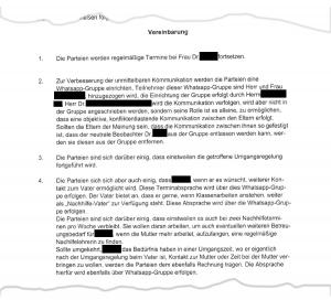 Das Originaldokument liegt vor; aus Gründen des Schutzes der Privatsphäre aller Beteiligten sind jedoch alle Passagen geschwärzt, die Rückschlüsse auf Zeit und Ort des Verfahrens zulassen