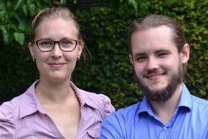 Sabine Landes und Dennis Schmolk beschäftigen sich mit dem Thema digitaler Nachlass. Foto: @Sabrina Kurtz
