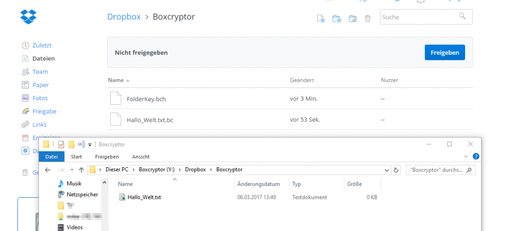 Boxcryptor sichert sensible Daten in Cloud-Speichern