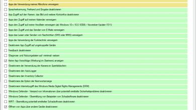 Gegen Windows 10-Schnüfflerei: W10 Privacy