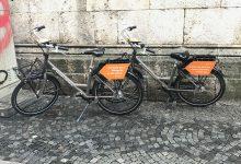 Auch ein dänischer Anbieter stellt seine Leihräder in deutsche Städte - wie hier in München.